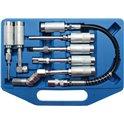 Adapter und Zubehörsatz für Fettpressen, 7-tlg.
