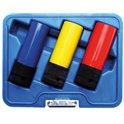 Kraft-Schoneinsatz-Set, 12,5 (1/2)  17, 19 und 21 mm